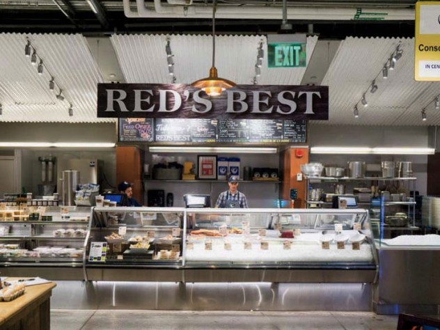 Red's Best regional seafood