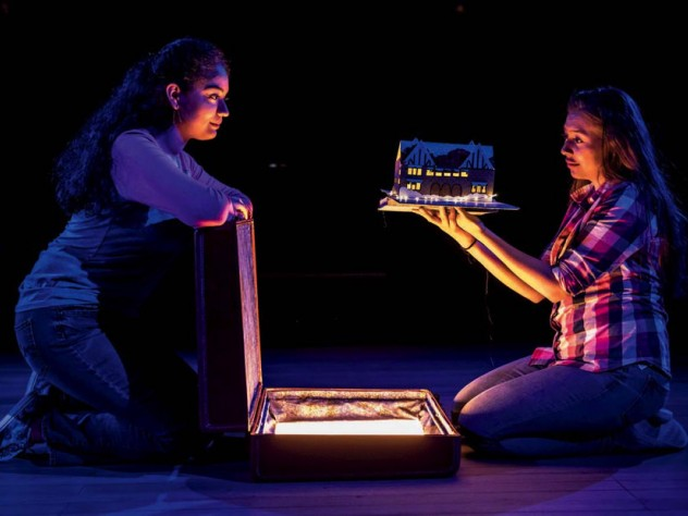 """A scene from """"Ofrenda,"""" a play about immigration, home, and belonging"""