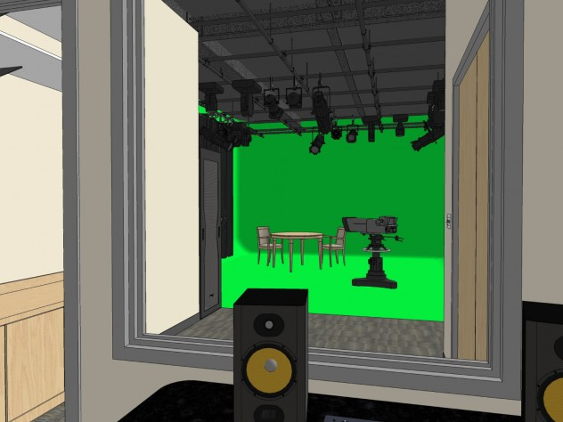 A video-capture studio will make its debut in Widener Library this fall.