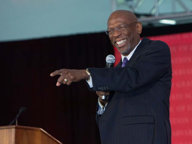 Geoffrey Canada delivered the keynote address.