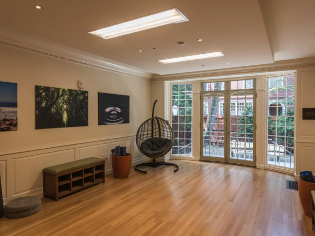 Meditation room at Winthrop House