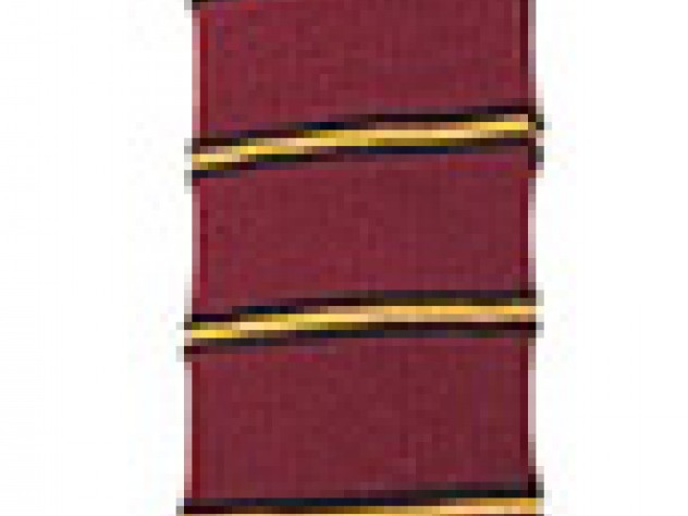 This class necktie belonged to Renny Little's father,  Bertram K. Little '23. His class colors were orange and black.