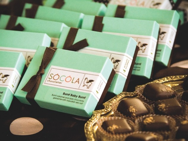 The upscale chocolates—boxes of a dozen,  like these, retail for $25 each—draw on flavors from  Vietnam and the rest of the world.