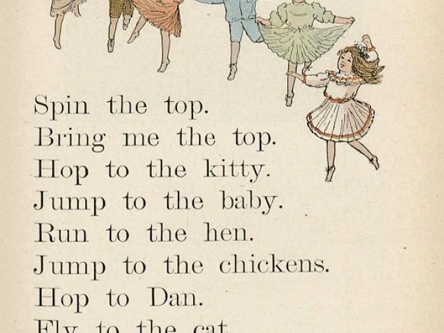 A page from <em>The Primer</em> (1908)