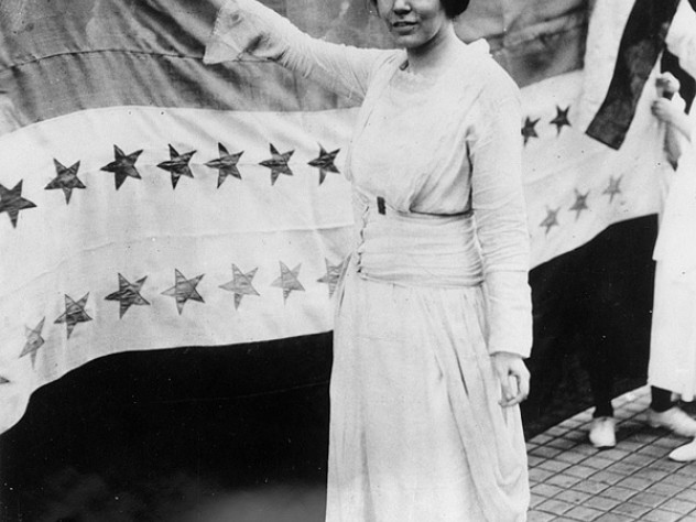 Paul toasts Tennessee's ratification of the Nineteenth Amendment, the vote that gave U.S. women the right to vote.