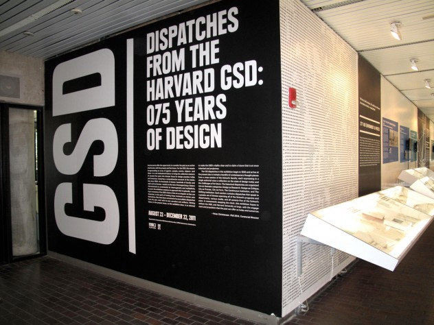 Developing a thematic exhibition is a way to reflect on the GSD's position in the present, as well as future events, thoughts, and ideas, says curatorial director Peter Christensen, G '14, who collaborated on this exhibit with more than 60 students, professors, alumni, and staff members.