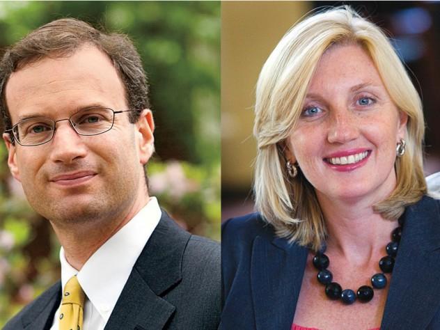 Dan Shore and Christine Heenan