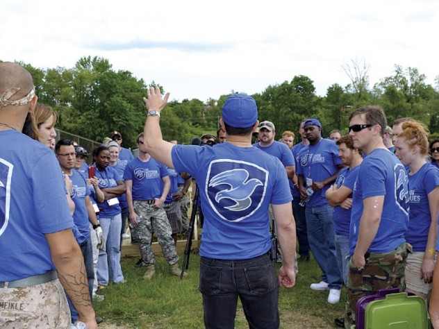 Each TMC platoon puts about 100 veterans to work in the community.