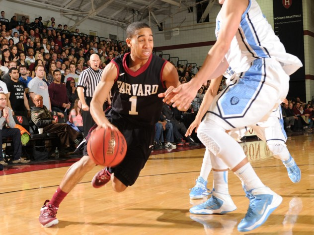 Co-captain and point guard Siyani Chambers '16 is emphasizing improved defense.