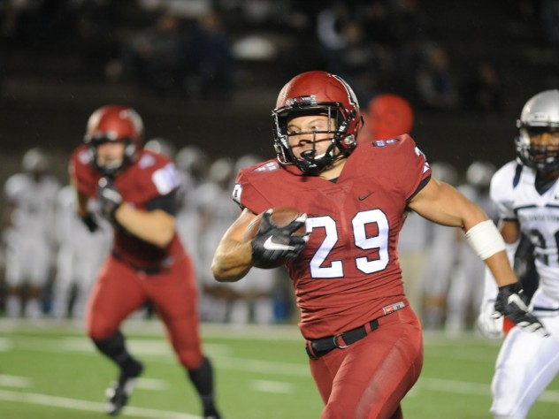 Paul Stanton Jr. scored on a 37-yard jaunt and gained a game-high 113 yards despite playing only in the first half.