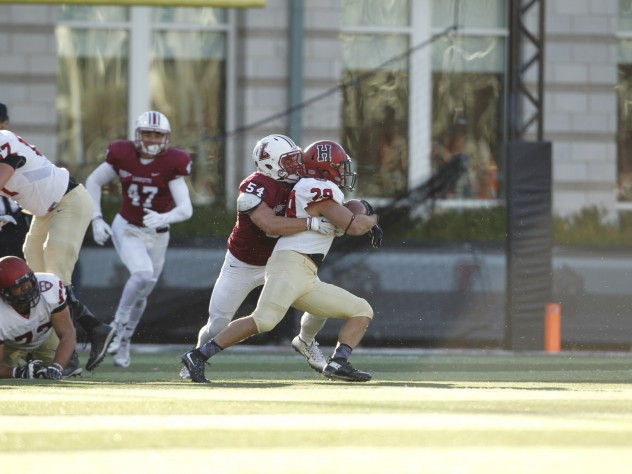 All but unstoppable, senior running back Paul Stanton Jr. churned, cut, and bulled his way to two touchdowns and a game-high 123 yards and two touchdowns.