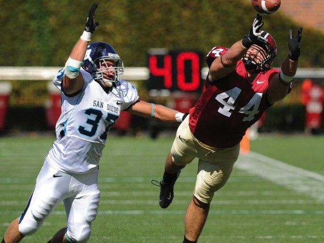 Sunday soldiers: Tight end Kyle Juszczyk also went on to the NFL.