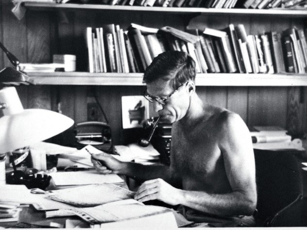 Aaron at the Center for Advanced Study in the Behavioral Sciences, Stanford, California, in 1958-59