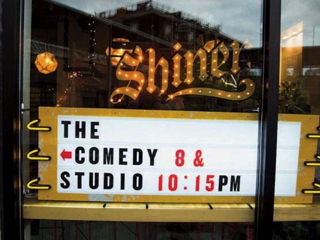The Comedy Studio features everything from newcomers and open mic nights to national acts.