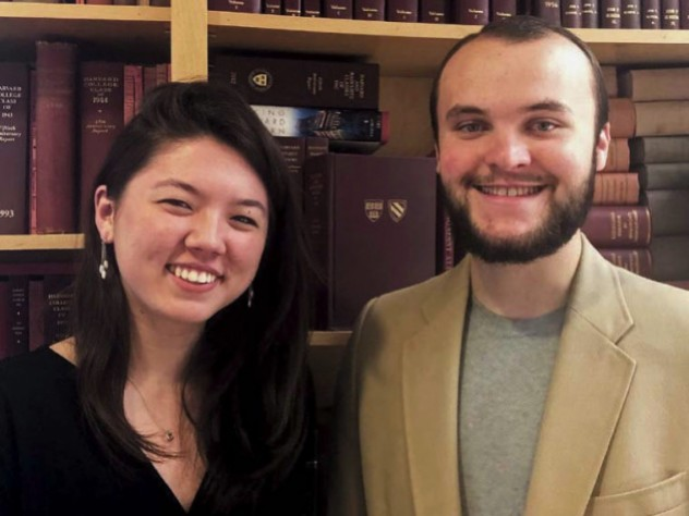 Photo of Michelle Walsh and Benjamin Roy
