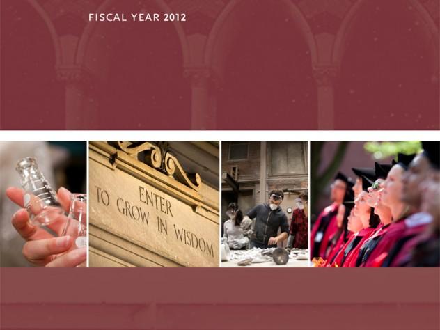 harvard 2012 annual financial report shows break even year harvard