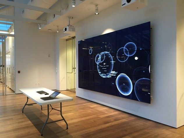 The Lightbox Gallery, on the building's fifth floor, will enable visitors to interact digitally with the Museums' collections.