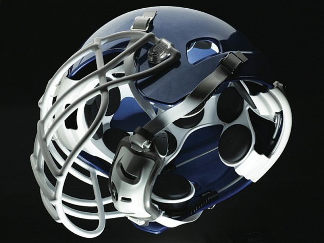 7665e7a463151 These views (above and below) of the Xenith football helmet show the disc-