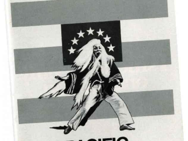 A copy of <i>Playbill</i> for the Sondheim-Weidman collaborations <i>Pacific Overtures</i> (1976)