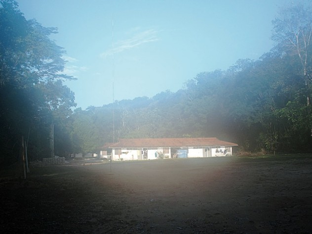 The sleeping quarters at Ducke, the main camp
