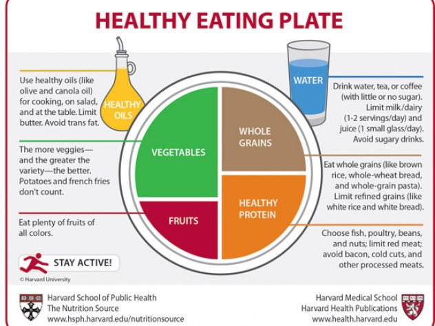 The healthy eating plate harvards answer to usda dietary harvards recipe for healthy eating forumfinder Images