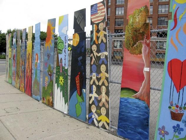 and a neighborhood gallery