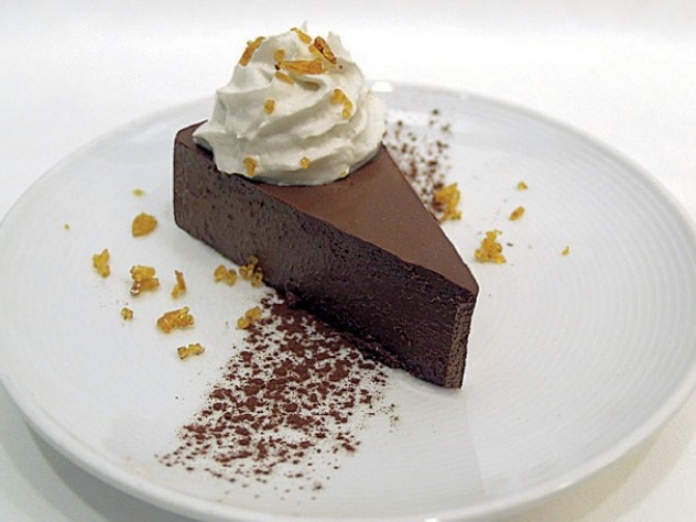 "A vegan ""death by chocolate"" cake"