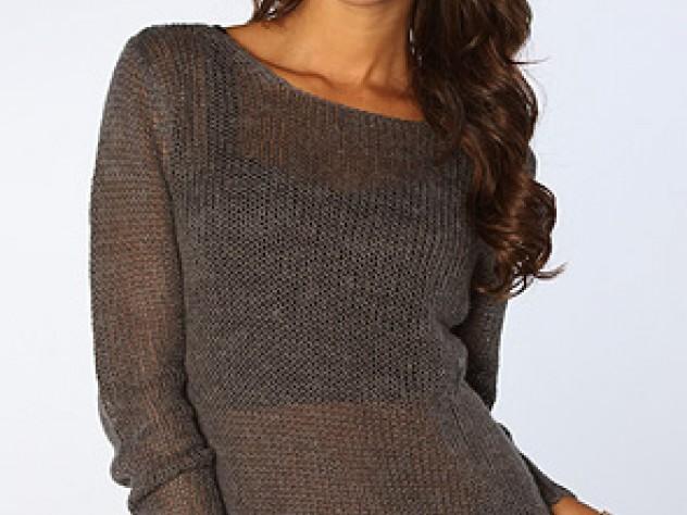 The Jinghua Sheer Sweater by Cheap Monday