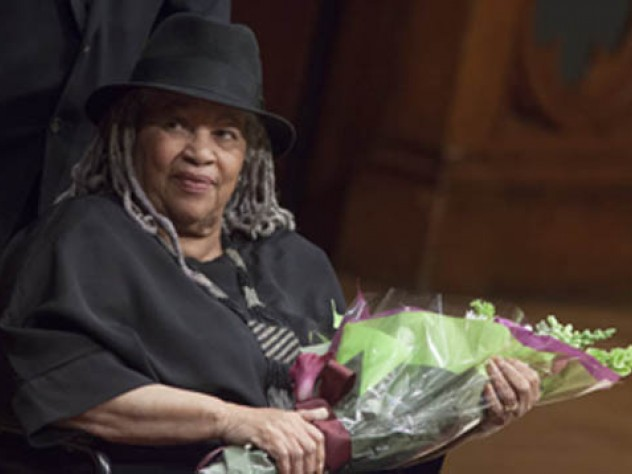 Toni Morrison gave the 2012 Harvard Divinity School Ingersoll Lecture, and focused on altruism and the literary imagination.