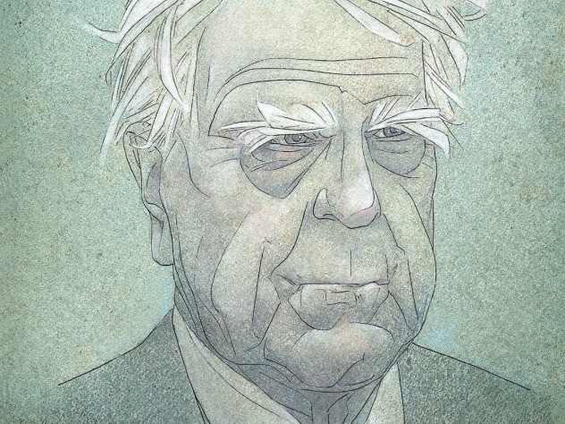 Robert Frost Revealed In His Letters  Harvard Magazine Illustration By David Johnson