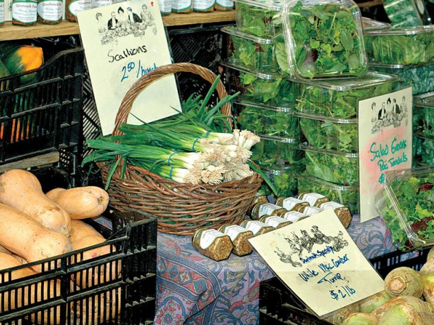 Silverbrook Farm's fresh produce