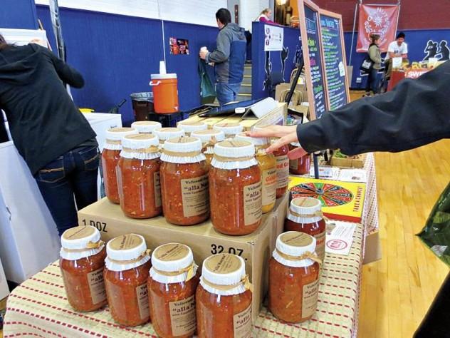 Tomato sauce and pasta from Valicenti Organico