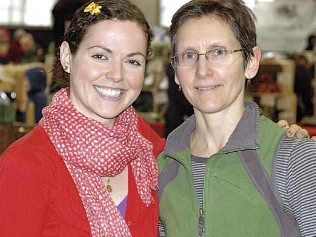 Market managers Amelia Joselow and Kim Motylewski