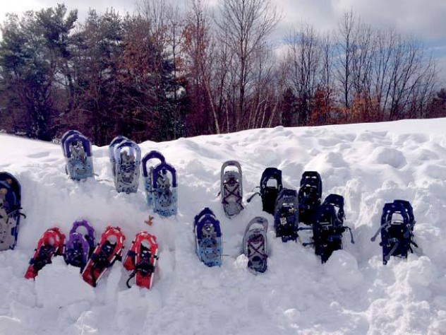 Miles of trails are open for Nordic skiing and snowshoeing.