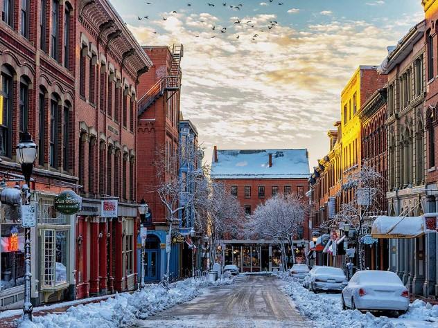 A winter's trip to Portland, Maine   Harvard Magazine