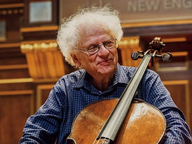 cdc036948f1d2 Cellist and teacher Laurence Lesser is celebrating his forty-fifth year at  the New England Conservatory of Music.