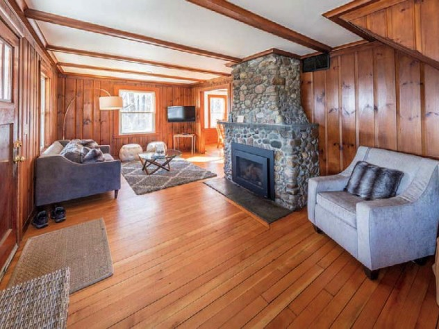 Cozy lodgings at the Warfield House Inn, a converted farmstead complex on a hilltop, are less than two miles from Berkshire East.