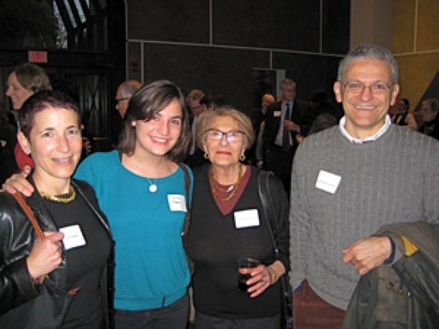Amy Bermar, Olivia Donnini, Mirella Stellini, and Alesandro Donnini '81