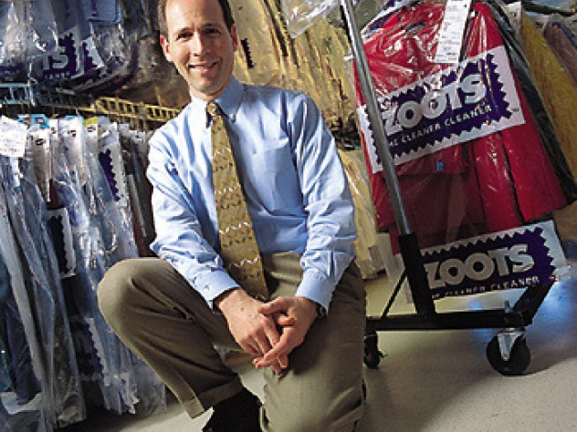 "After a decade at Staples, Todd Krasnow rediscovers the fun of ""changing the landscape"" - in dry cleaning."