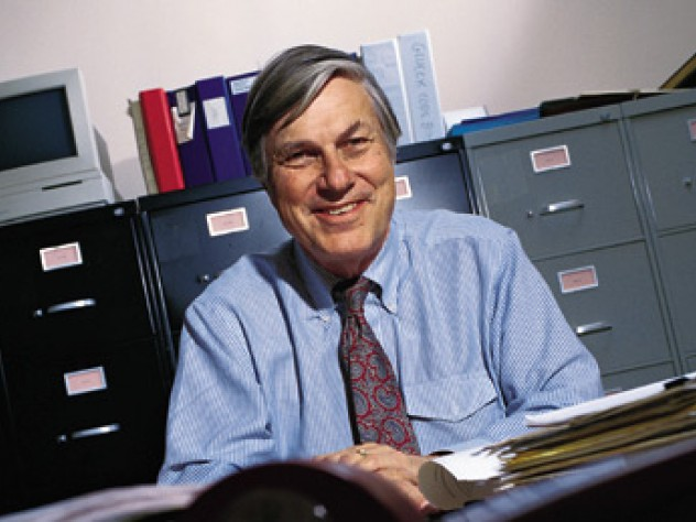 George Vaillant, backed by more than 60 years of files from the Grant Study.