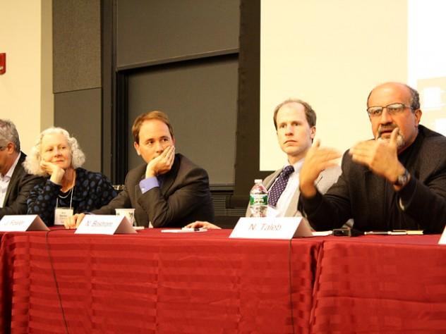 Nicholas Christakis, Ann Swidler, James Fowler, Nick Bostrom, and Nassim Taleb