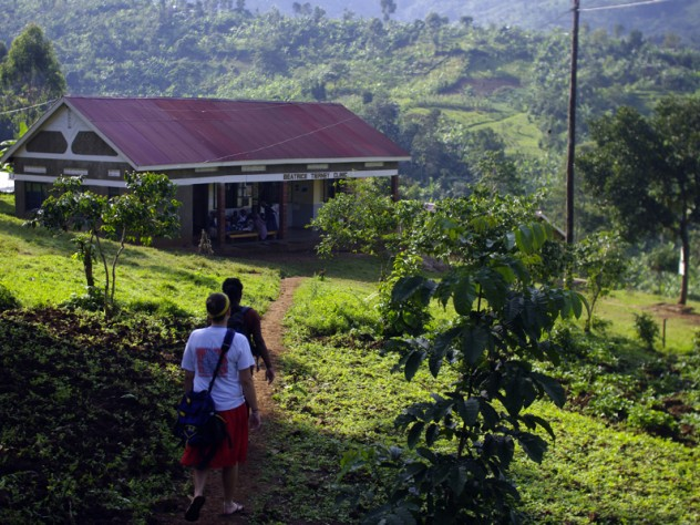 The Beatrice Tierney Health Center, nestled in the mountains of eastern Uganda, serves Bumwalukani and surrounding villages.