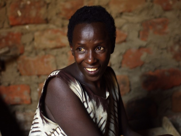 SHIP client Jacinta Nshemereirwe also runs a farm to support her family.