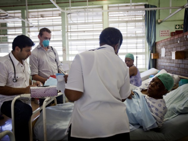 Tuberculosis is so widespread that the hospital formerly neglected to test patients for it (in part because they often either died or went home before test results could be delivered). iTeach improved follow-up; the hospital now tests all patients who cough, and 40 percent of those tests come back positive.
