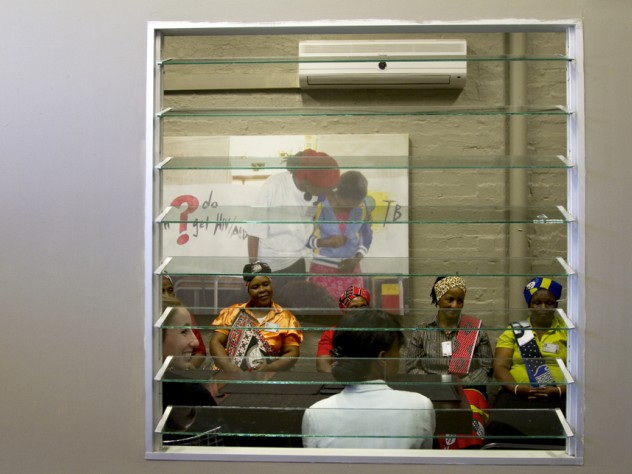 Makhosi Memela (in orange), Makhosi Msomi (with red sash), and Makhosi Ngidi (in yellow)