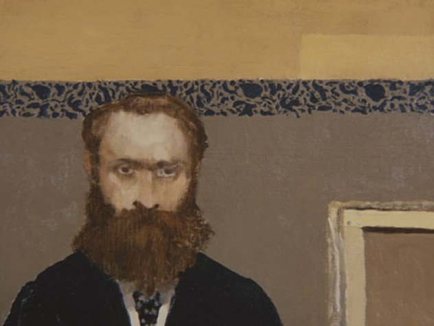 Edouard Vuillard, Self-Portrait, c. 1892. Oil on canvas, 38.4 x 45.9 cm