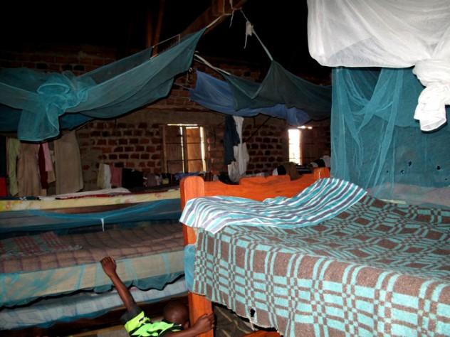 The children's sleeping quarters