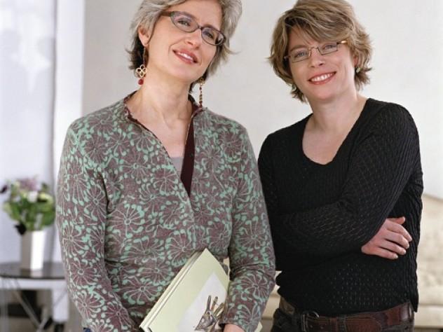 Jane Kamensky (left) and Jill Lepore