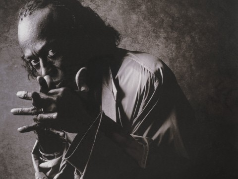Portrait of Miles Davis