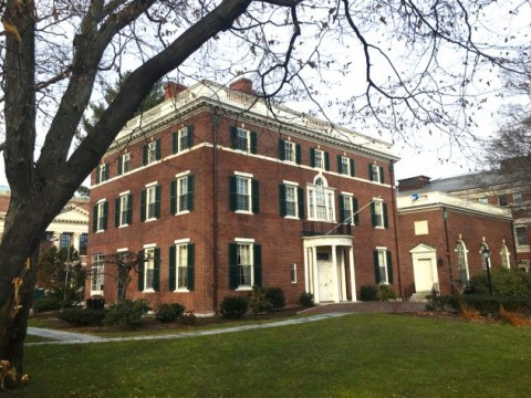 Photograph of Harvard's Loeb House